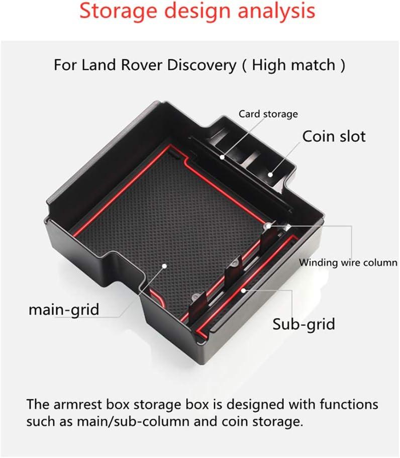 Muchkey Handschuhfach Armlehne Aufbewahrungsbox Center Console Armrest Storage Box Innen f/ür velar