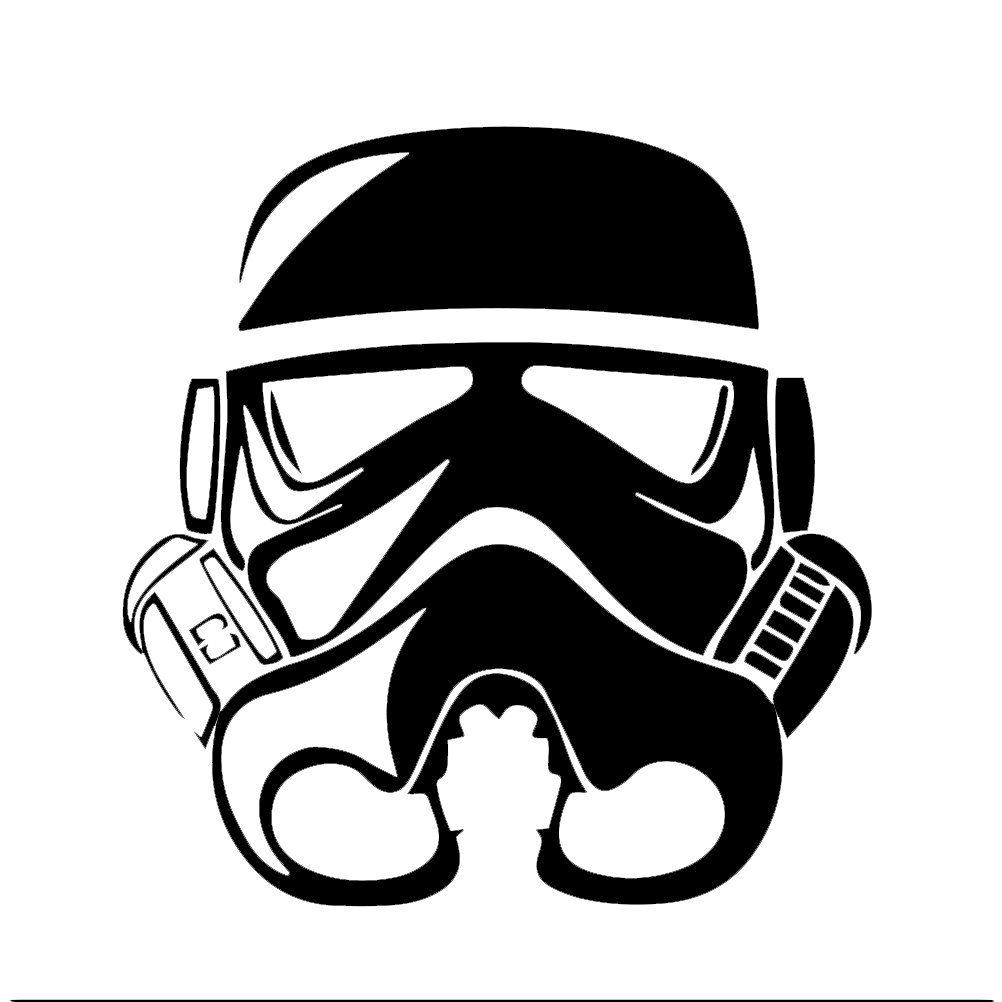 stormtrooper helmet silhouette images. Black Bedroom Furniture Sets. Home Design Ideas