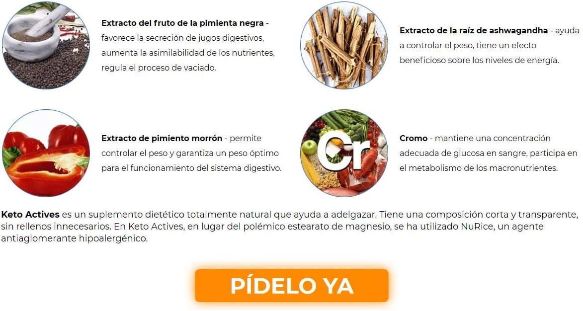 KETO-ACTIVES Premium (2x) cura de adelgazamiento, el mejor ...