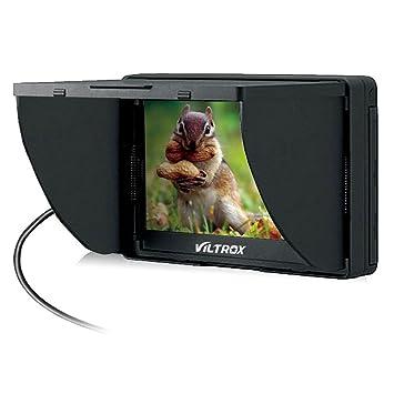 Viltrox DC-50 HD Clip-on LCD 5 Monitor Portable Wide View for Canon Nikon Sony DSLR Camera DV