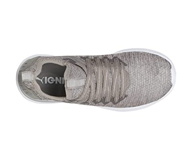 the latest dc409 56ec3 Puma Women's Ignite Flash Evoknit EP Wn s Rock Ridge Running Shoes