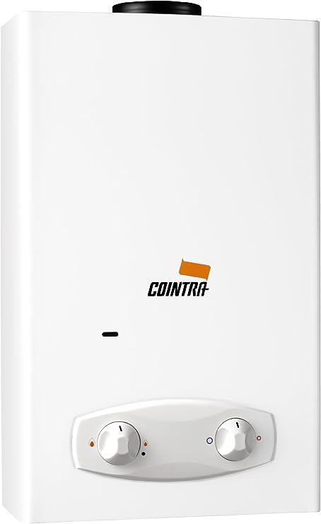 Cointra Godesia 2331 - Calentador para interior, 10 l, 550 x 328 x 181 mm, color blanco