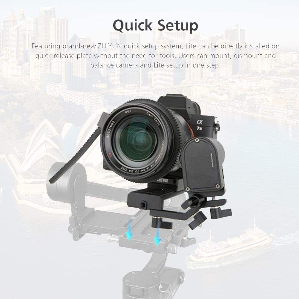 Mugast Professional Official Servo Stabilizer Follow Focus Control Lite CMF03 with Support Bracket and Focus Gear for WEEBILL LAB /& Crane 3