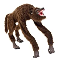 Home Accents Holiday 63 in. Animated Crouching Fur Werewolf Deals