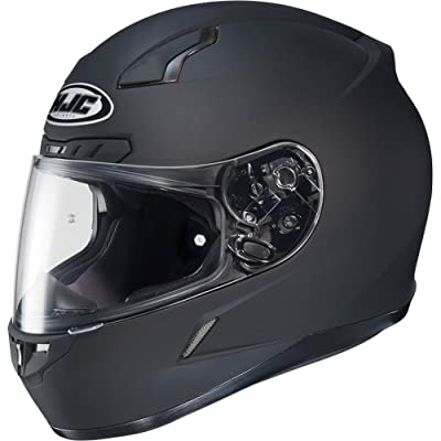 HJC Solid Men's CL-17 Full Face Motorcycle Helmet