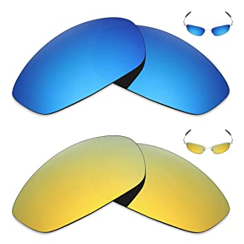 816ce43bdf87 Image Unavailable. Image not available for. Colour: Mryok 2 Pair Polarized  Replacement Lenses for Oakley Whisker Sunglass ...