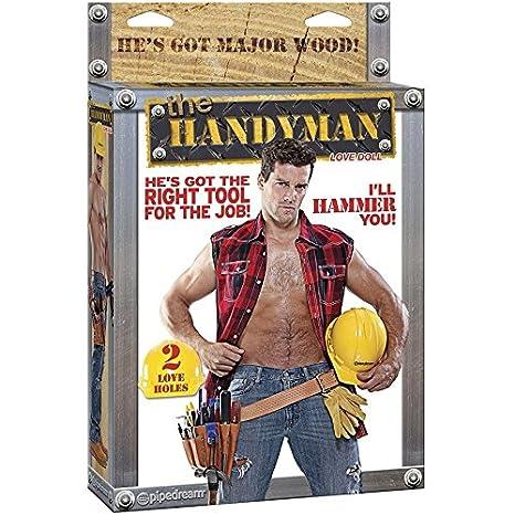 HANDY MAN MUÑECO HINCHABLE: Amazon.es: Electrónica