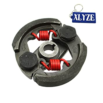 XLYZE Heavy Duty Pocket Bike Embrague con chavetero para 43cc 47cc 49cc Mini Moto ATV Dirt Bike: Amazon.es: Coche y moto