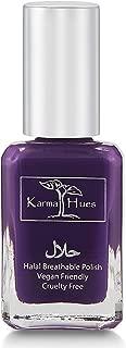 product image for Karma Halal Certified Nail Polish- Truly Breathable Cruelty Free and Vegan - Oxygen Permeable Wudu Friendly Nail Enamel (KHADIJA)