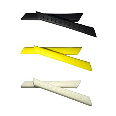HKUCO Red/Blue/Yellow Replacement Silicone Leg Set For Oakley Radar Sunglasses Earsocks Rubber Kit 0mb1H5B5qH
