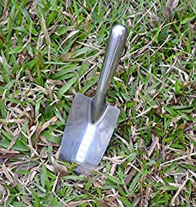 Gardening shovel tools full stainless steel for Gardening tools on amazon