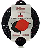 Silicone Splatter Screens Set of 2 - Cooking Grease Screen Cover for Frying Pan and Skillet