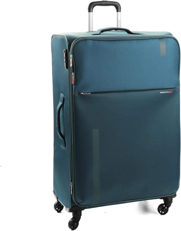 Roncato Maleta Grande L Blanda Speed - cm 78 x 48 x 29/32 Capacidad 103/113 L, Extensible, Organización Interna, Cierre TSA, Garantìa 2 años