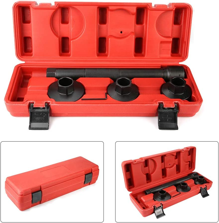 Ejoyous Steering Rack Knuckle Tool 4Pcs Carbon Steel Steering Rack Knuckle Tie//Track Rod End Axial Joint Removal Installer Tool Kit for Universal Cars and Trucks