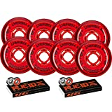 Revision Wheels Inline Roller Hockey Variant 76/80mm 74A Hilo + Bones Bearings