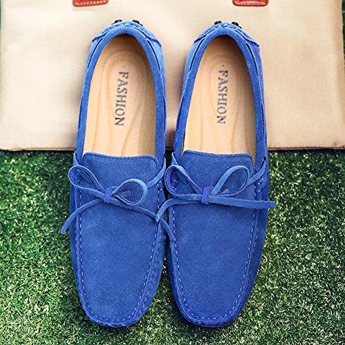Uomo Blu Pantofola Allacciare Scamosciata Icegrey Della Mocassini Pelle aZHqx4B6w