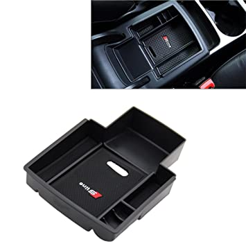 bparts Auto guantera reposabrazos Caja Organizador Medio Consola Net Auto accesorios para A4 A5 B8 Cajas: Amazon.es: Coche y moto