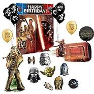 Star Wars Photo Prop Booth Kit Balloon Decoration Set