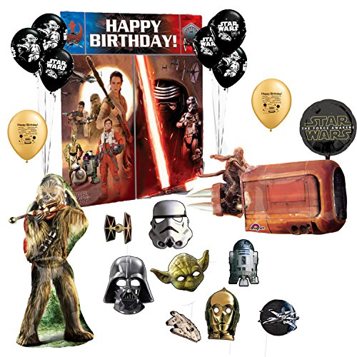 Star Wars Photo Prop Booth Kit Balloon Decoration Set (2)