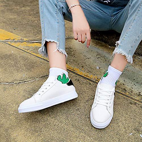 PU Comfort Blue Zapatos Flat Black Red Summer Sneakers Poliuretano Mujer de Red ZHZNVX Heel t1qHt
