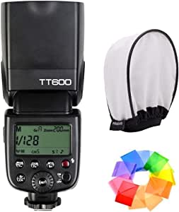 Godox TT600 Speedlite Flash with Built-in 2.4G Wireless Transmission for Canon, Nikon, Pentax, Olympus and Other Digital Cameras with Standard Hotshoe