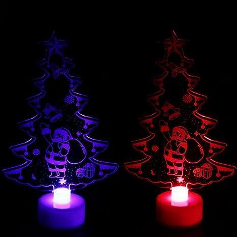 jin creative colorful led christmas tree light mini crystal christmas tree simulation desktop glow acrylic tree