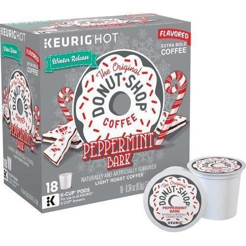 (The Original Donut Shop Peppermint Bark K-cups by Donut Shop Classics (18 Count))