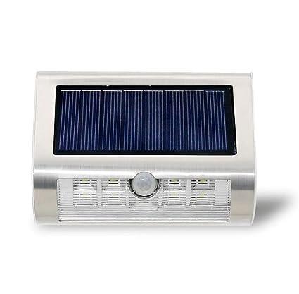 Sensor De Movimiento LED De Luz Super Bright Solar Powered Wall Light Sensor De Cuerpo Humano