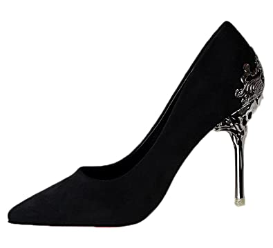 Embellished Evening Pointed Shoe Red Sole