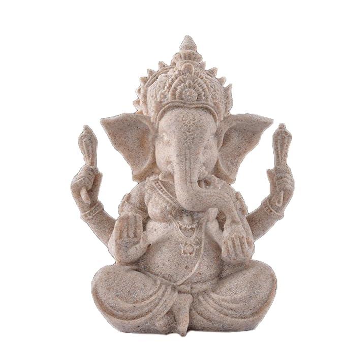 OMEM Decoración para pecera, estatua de Buda Ganesh, adornos para acuario, decoración para el hogar, regalo: Amazon.es: Productos para mascotas