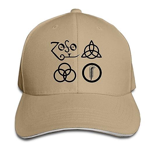 Sports Sandwich Bill Cap Led Zeppelin Number Logo Trucker Hat at Amazon  Men s Clothing store  9f50300b08d1