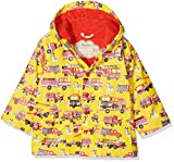 Hatley Little Boys' Printed Raincoats, Fire Trucks, 3