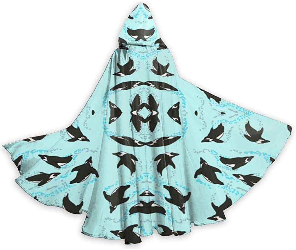 Mitta Yane Hooded Cape Disfraz de pingüinos africanos de Cuerpo ...