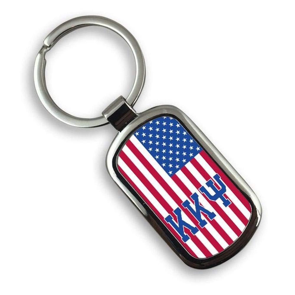 Kappa Kappa Psi USA Flag Rectangle Key Ring