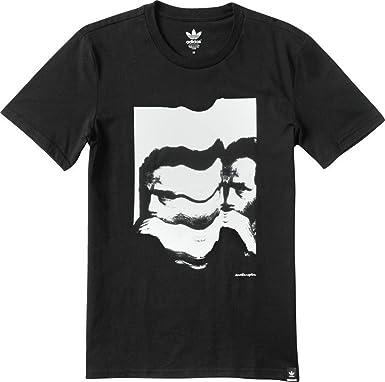 acquisto genuino acquisto speciale economico per lo sconto Mens Adidas Originals Action Sports Glazed Face T-Shirt (Small) (S ...