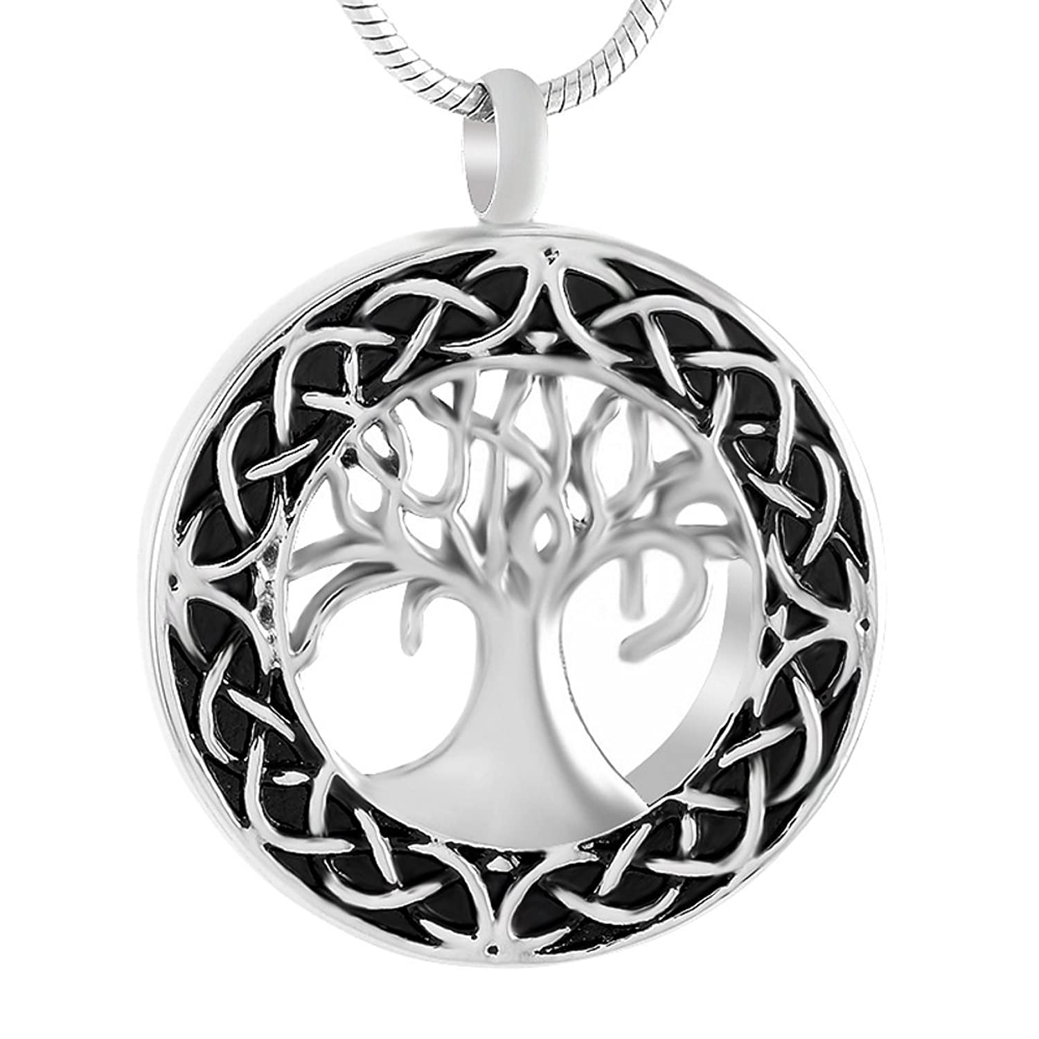 Amazon celtic tree of life urn necklace cremation jewelry amazon celtic tree of life urn necklace cremation jewelry memorial keepsake pendant funnel kit included jewelry solutioingenieria Image collections