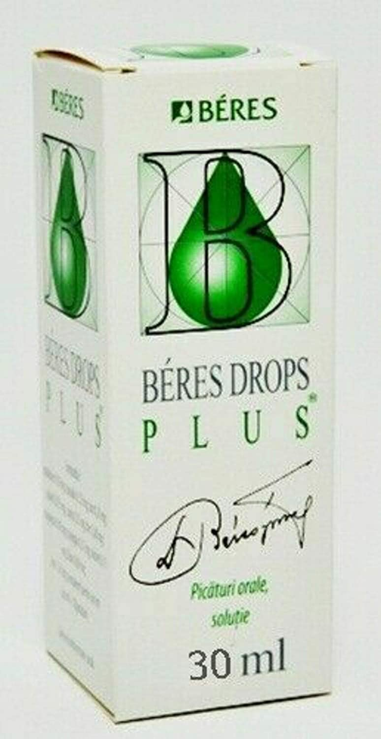 Beres Plus Drops 30ml Immune System Support Vitamin Dietary Supplement Organic Physical Activity