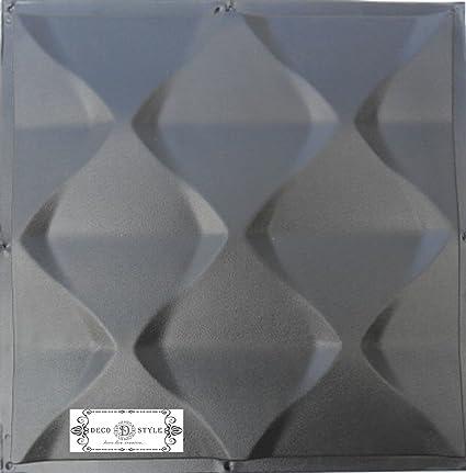 Amazon.com: Pyramids Plastic Molds For 3 D Panels Plaster Wall Stone ...
