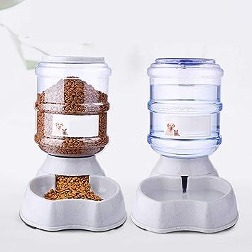 Alimentador de agua para perros Fuentes de riego de alimentación de 3.8L Dispensador automático de