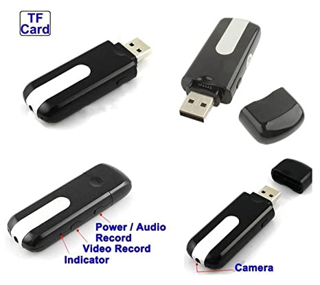 -Thenumberoneshop-PENDRIVE USB CAMARA ESPIA OCULTA VIDEOS FOTOS 720 * 480