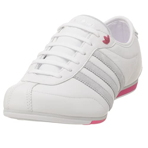altura Situación Intestinos  Adidas Women's Okapi 2 Leather Running Shoe, White/Grey/Bloom, 6.5 M: Buy  Online at Low Prices in India - Amazon.in