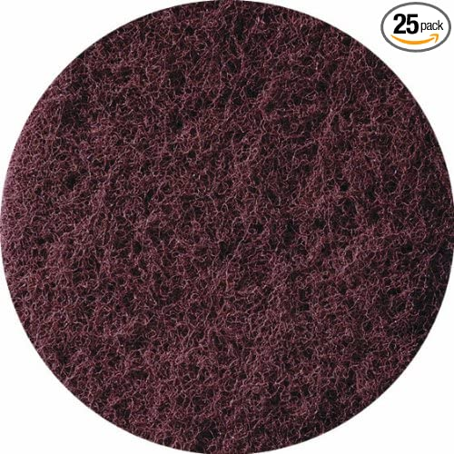 25-Pack United Abrasives-SAIT 77214 3-Inch Lok Non-Woven Disc
