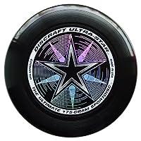 Discraft Ultra-Star 175g Ultimate Frisbee Starburst - schwarz