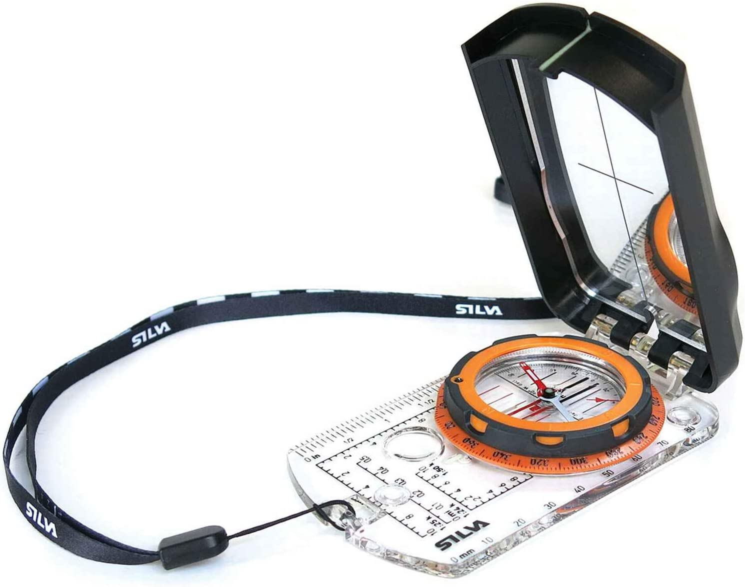Silva Ranger 2.0 Compass - Orange : Sports & Outdoors