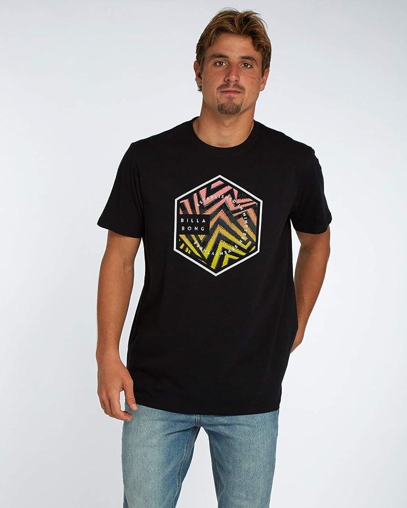 BILLABONG Six SS Camiseta, Hombre, Negro, S: Amazon.es: Ropa y accesorios