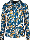 Women's Washington Air National Guard Military Camo Fullzip Hoodie (Apparel)