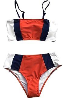 44ee07ba14e61 Amazon.com: CUPSHE Women's Ruby Red Off The Shoulder High Leg Cut ...
