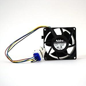 Ge WR49X25197 Refrigerator Evaporator Fan Motor Genuine Original Equipment Manufacturer (OEM) Part