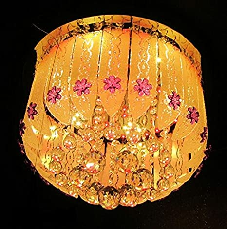 Buy Jhoomar Chandelier With Three Lights For Home Decor Online At
