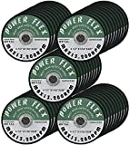 50 PACK 4 1/2'' x 1/16'' x 5/8'' PREMIUM CUT OFF WHEELS - For Cutting all Ferrous Metals and Stainless Steel